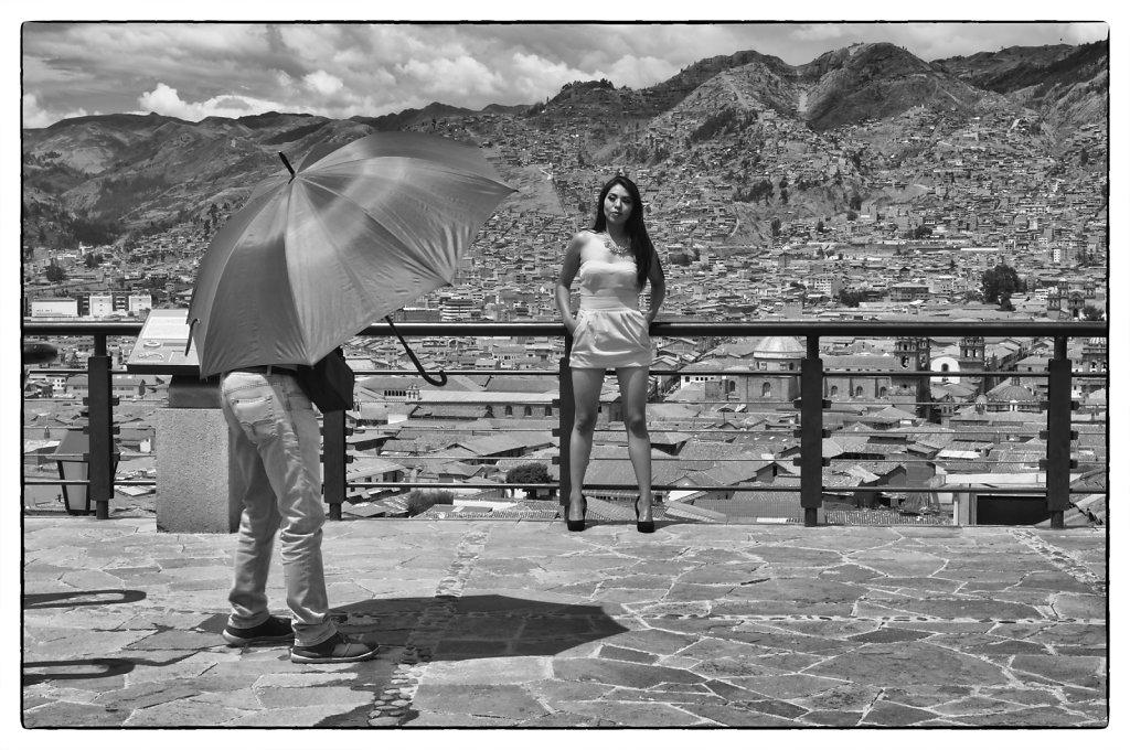 Cast over Cusco.